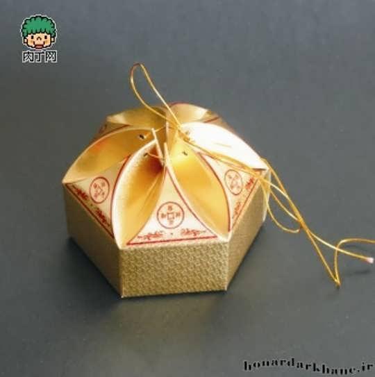 آموزش ساخت جعبه هدیه