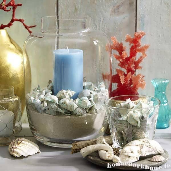 شمع آرایی در منزل
