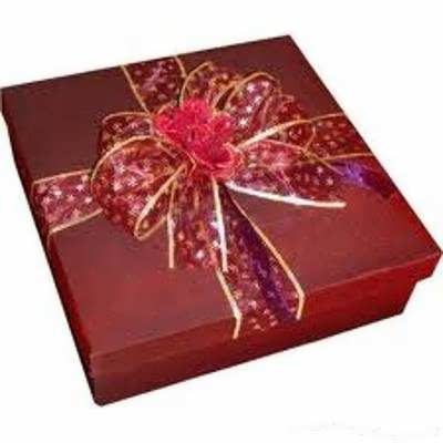 تزئین جعبه هدیه ولنتاین