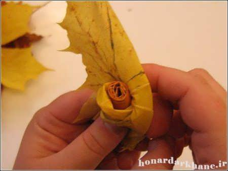 آموزش ساخت گل رز مصنوعی