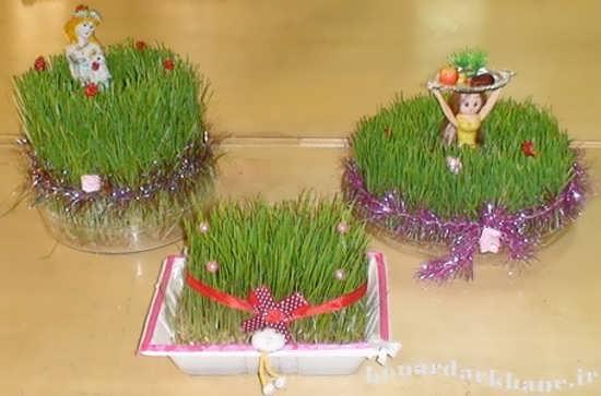 سبز کردن سبزه عید 93