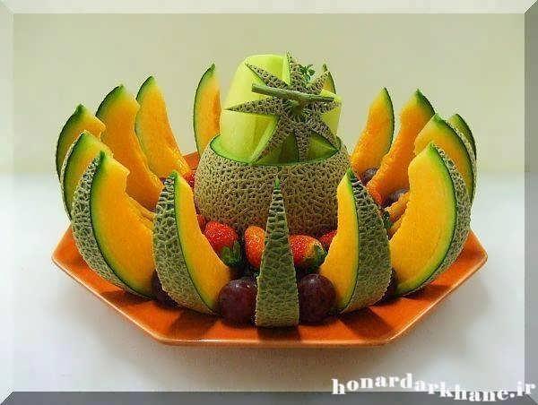 آموزش میوه آرایی