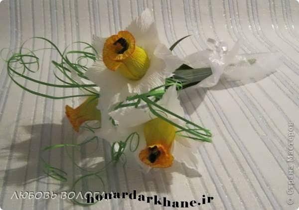 ساخت گل کاغذی