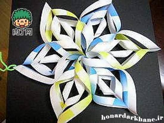 کاردستی با کاغذ رنگی