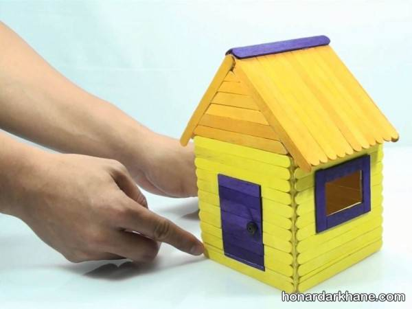 کاردستی خانه با چوب