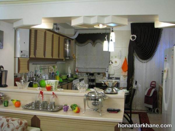 تزیین آشپزخانه عروس جدید