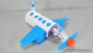 ساخت هواپیما با بطری