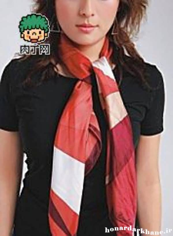 مدل بستن روسری