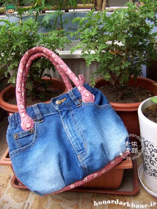 آموزش ساده و راحت دوخت کیف لی زنانه