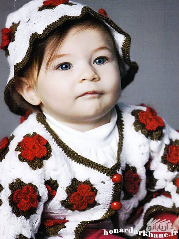 مدل بافتنی دخترانه