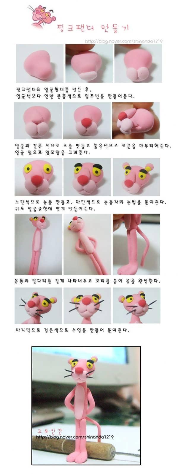 ساخت عروسک با خمیر چینی