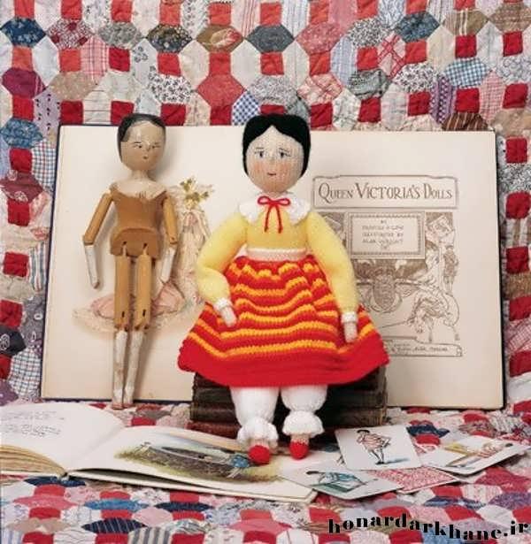 عروسک بافتنی