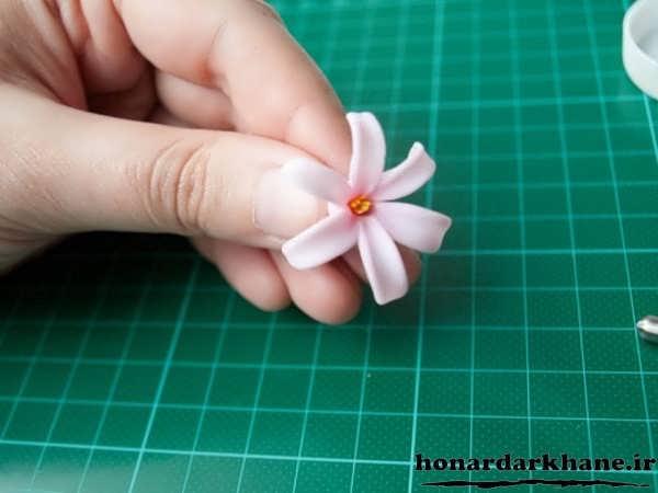 ساخت گل سنبل
