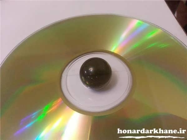 کاردستی با سی دی
