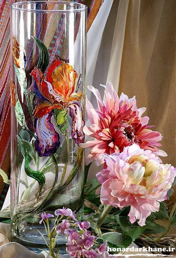 نقاشی روی شیشه