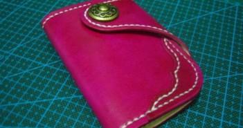 دوخت کیف چرمی با دست