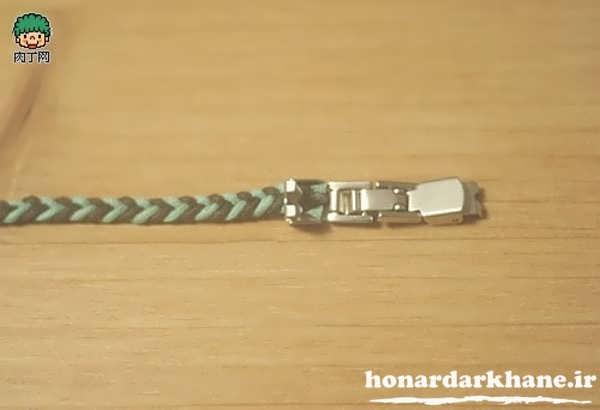 وسایل مورد نیـاز به منظور ساخت دستبند آموزش ساخت دستبند دوستی چرمـی جدید و   زیبا درون منزل mimplus.ir