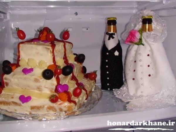 داخل یخچال عروس