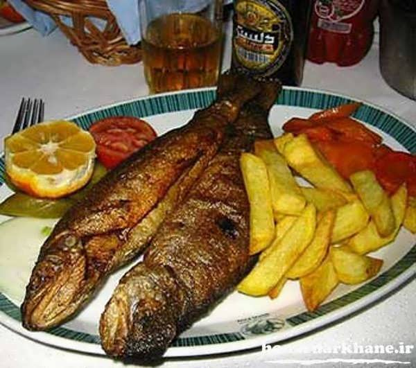 طبخ ماهی