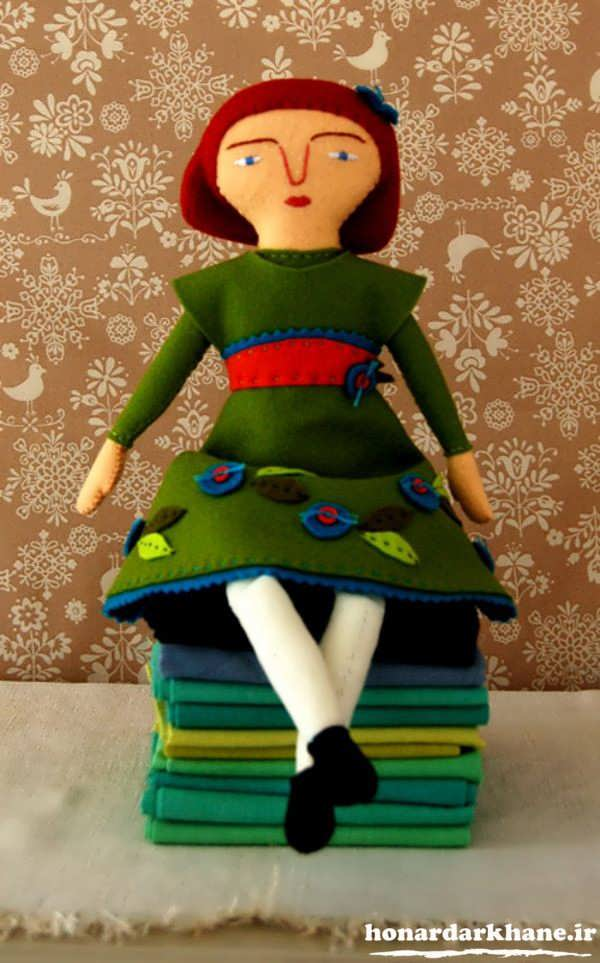 ساخت عروسک با نمد
