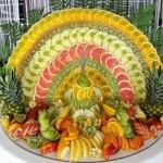 تزیین میوه