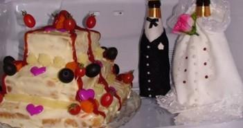 تزیین یخچال عروس