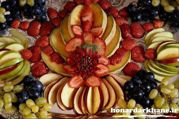 میوه آرایی سفره عقد