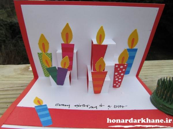 مدل کارت پستال