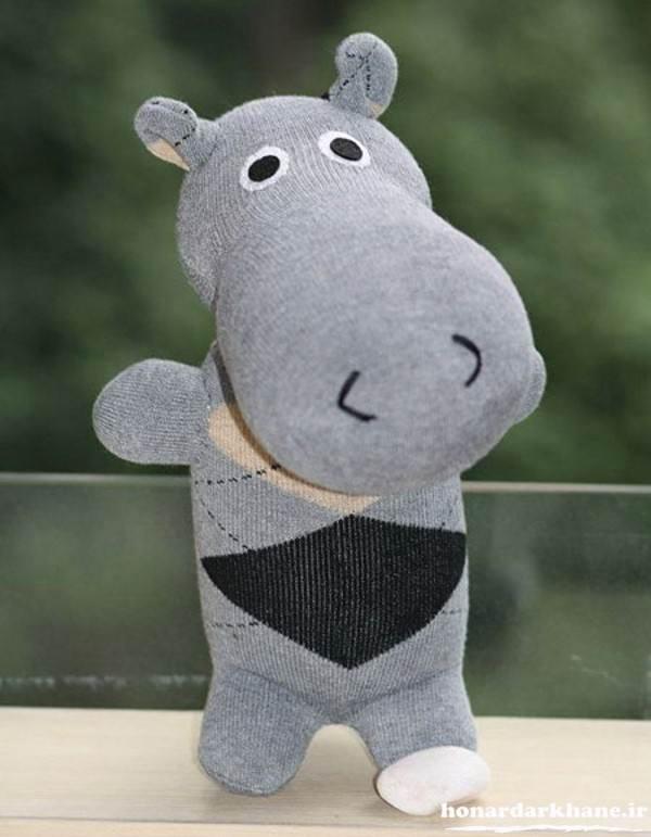 عروسک با جوراب