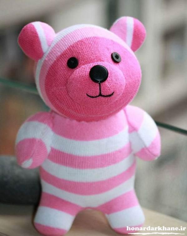 عروسک سازی با جوراب