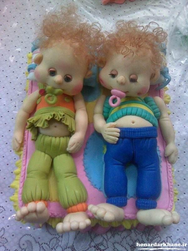 عروسک جدید خمیری