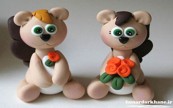 مدل عروسک جدید با خمیر چینی