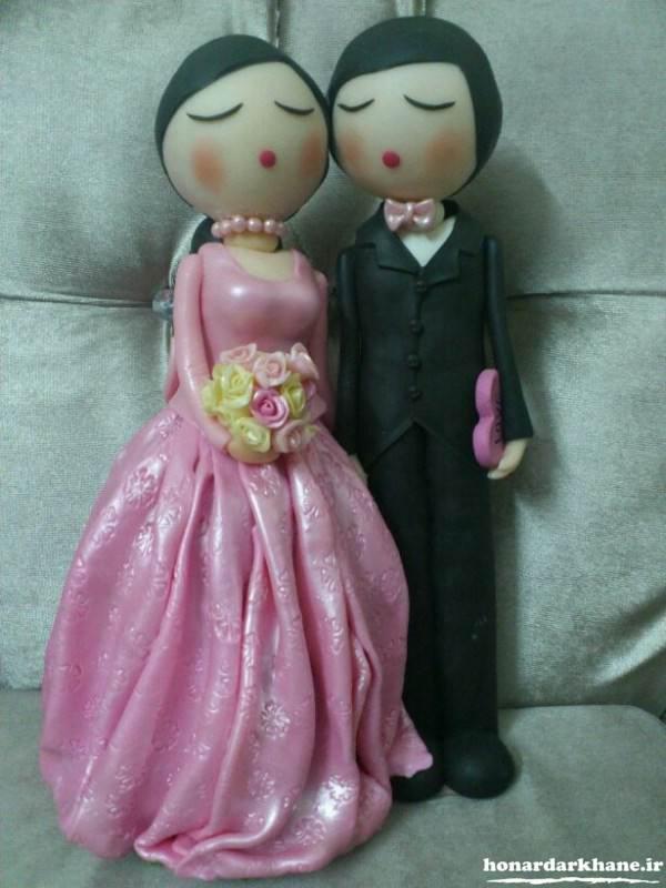 عروسک با خمیر چینی