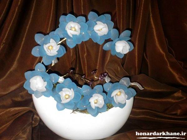 مدل گل کریستالی زیبا