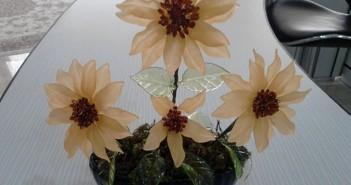 مدل گل کریستالی
