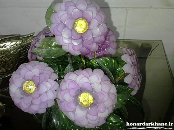 تزیین گل کریستالی