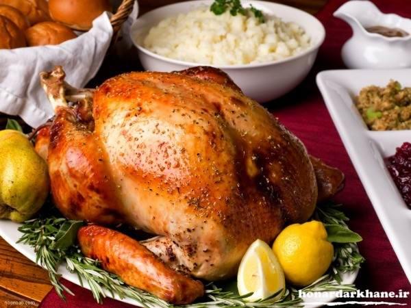 تزیینات مرغ