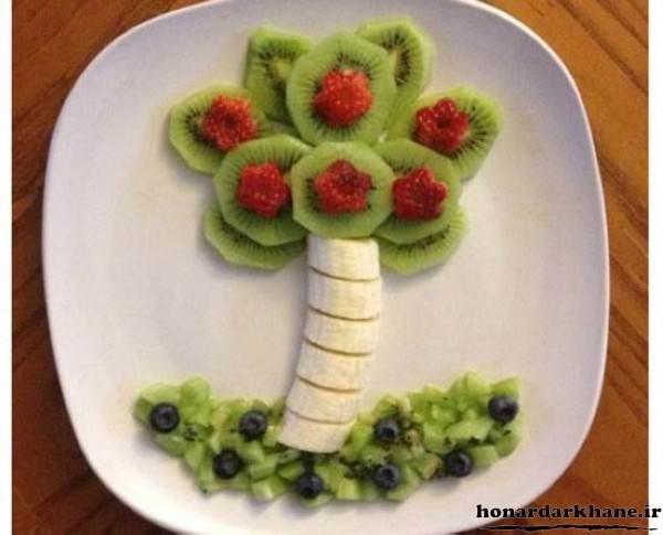 تزیینات میوه برای کودکان