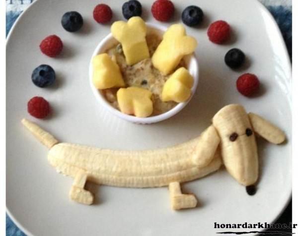 میوه آرایی کودکانه