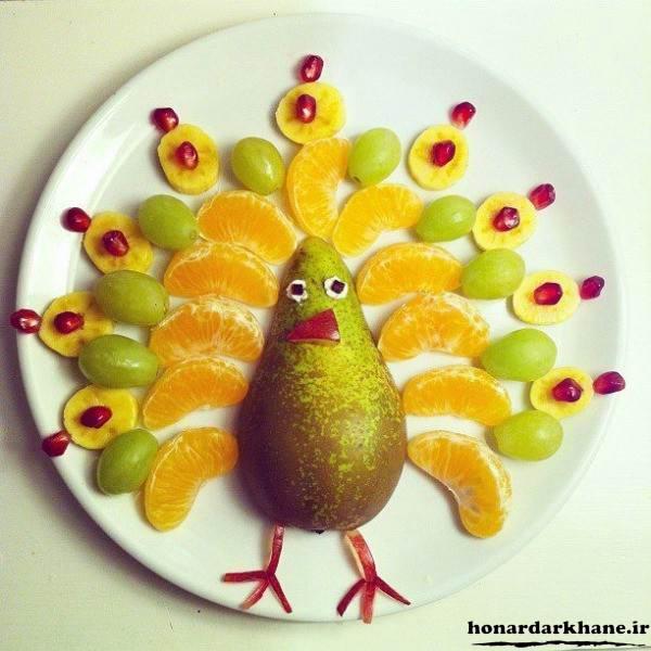 میوه آرایی برای کودکان