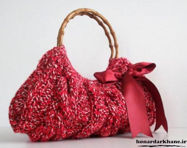 مدل کیف زنانه بافتنی
