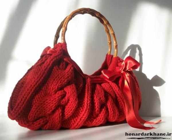 بافت کیف زنانه