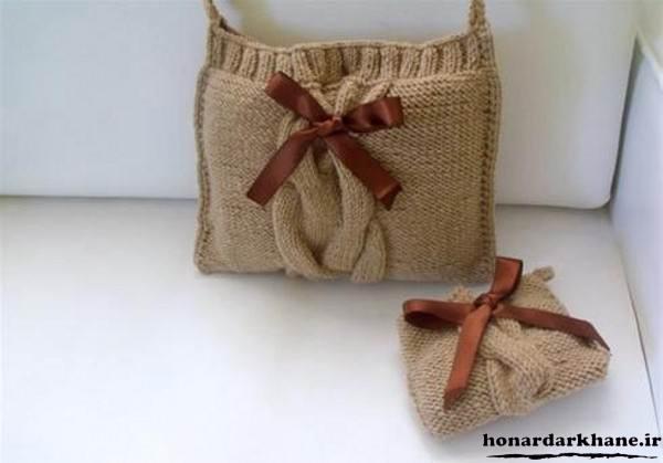کیف بافتنی