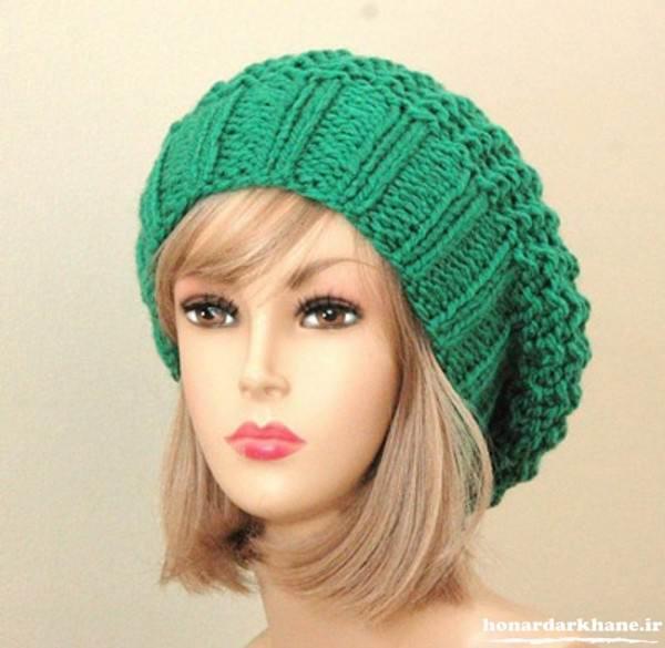 کلاه بافتنی دخترانه جدید