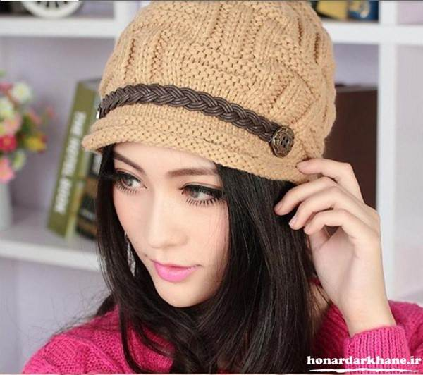مدل جدید کلاه بافتنی