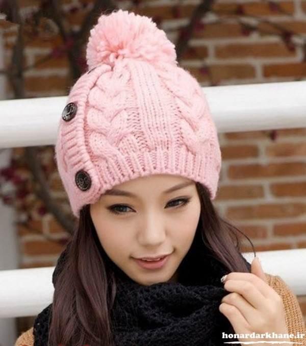 بافت کلاه زنانه