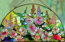 نقاشی روی شیشه ویترای