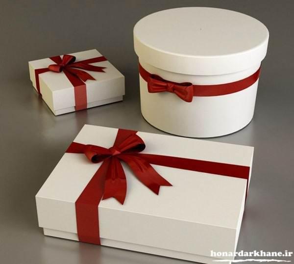 تزیین هدیه تولد