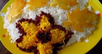 تزیین برنج