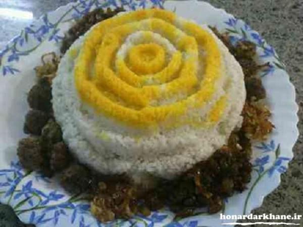 تزیین جدید برنج